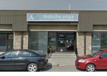 Saskatoon yoga studio Moksha Yoga