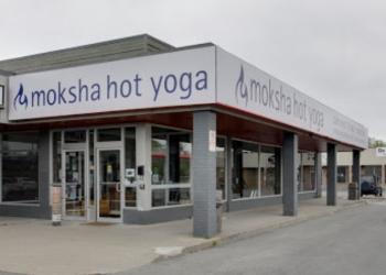 St Catharines yoga studio Moksha Yoga