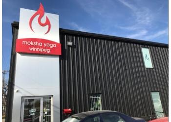 Winnipeg yoga studio Moksha Yoga