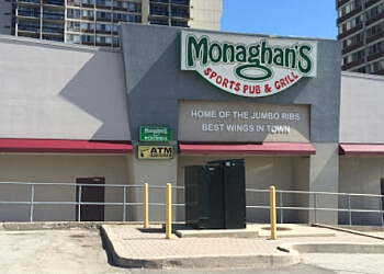 Oakville sports bar Monaghan's Sports pub and grill