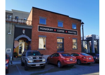 Cambridge cafe Monigram Coffee Roasters