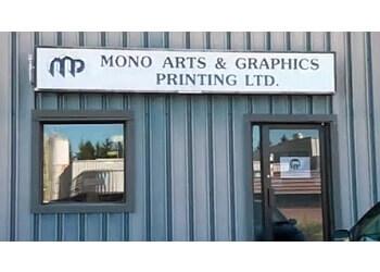 Orangeville printer Mono Arts & Graphics Printing Ltd.