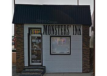 Medicine Hat tattoo shop Monsters' Ink Tattoos