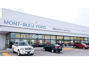 Gatineau car dealership Mont-Bleu Ford