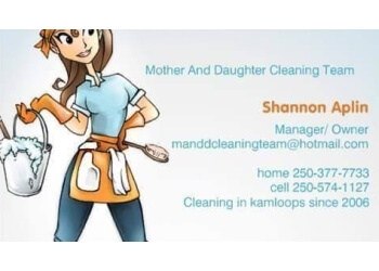 Kamloops house cleaning service Mother And Daughter Cleaning Team