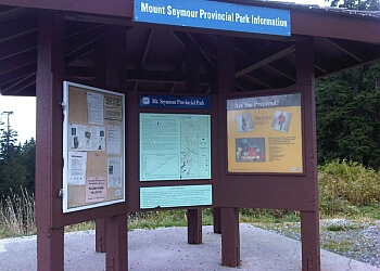North Vancouver hiking trail Mount Seymour Provincial Park Trail