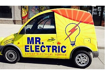 Winnipeg electrician Mr. Electric