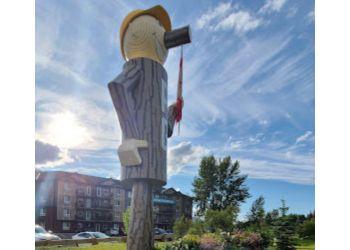 Prince George landmark Mr PG Statue