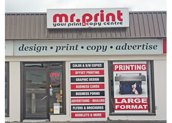 Belleville printer Mr. Print Canada Inc.
