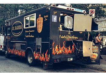 Vancouver food truck Mr. Shawarma Truck