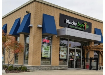 Cambridge mexican restaurant Mucho Burrito Fresh Mexican Grill