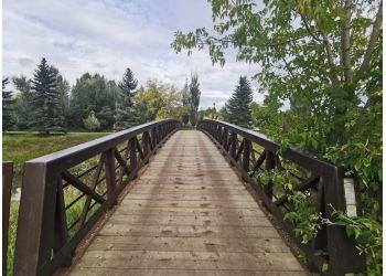 Grande Prairie hiking trail Muskoseepi Park Trail