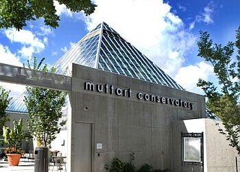 Edmonton places to see Muttart Conservatory