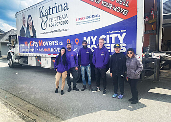 Surrey moving company My City Movers Ltd.