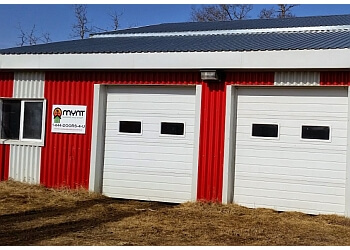 Sherwood Park garage door repair Mynt Garage and Shop