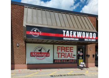 Richmond Hill martial art Myung's Taekwondo Academy Richmond Hill