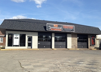 Brantford car repair shop ND Automotive Inc.