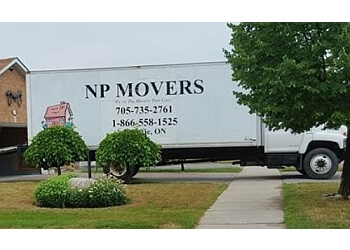 Barrie moving company NP Movers