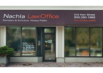 Oakville notary public Nachla Law Office