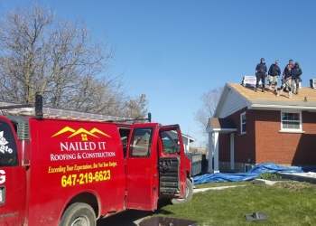 Mississauga roofing contractor Nailed It Roofing & Construction Inc.