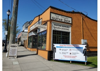 New Westminster music school Neil Douglas Guitar Shop