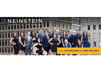 Toronto personal injury lawyer Neinstein LLP