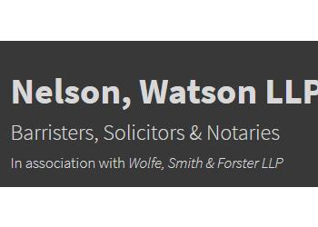 Guelph civil litigation lawyer Nelson, Watson LLP