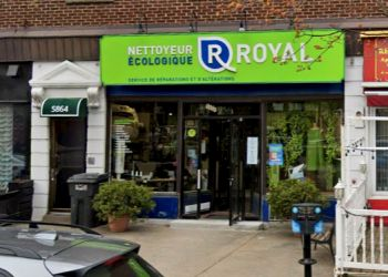 Montreal dry cleaner Nettoyeur Écologique Royal