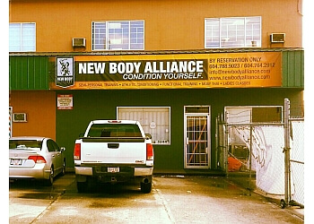 Burnaby gym New Body Alliance