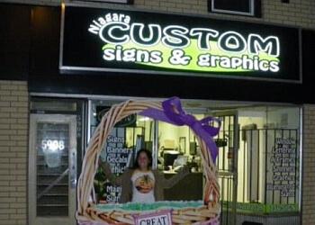 Niagara Falls sign company Niagara Custom Signs & Graphics