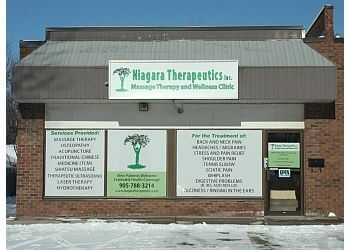 Welland massage therapy Niagara Therapeutics Inc.