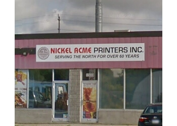 Sudbury printer Nickel Acme Printers Inc.