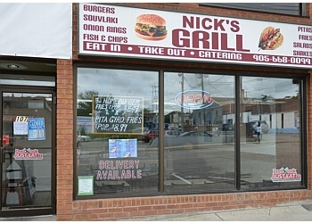 Whitby mediterranean restaurant Nicks Grill