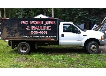 Prince George junk removal No More Junk & Hauling