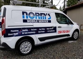 Norm's Mobile Service Ltd. Nanaimo HVAC Services