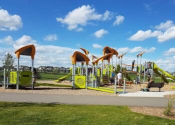 Regina public park  Norseman Park