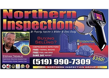 Windsor home inspector Northern Inspections