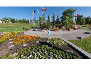 Airdrie public park Nose Creek Regional Park