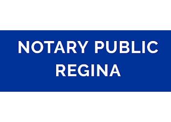 Regina notary public Notary public regina