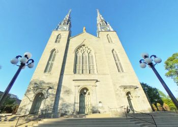 Ottawa church Notre-Dame Cathedral Basilica