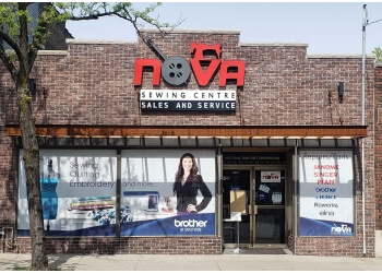Hamilton sewing machine store Nova Sewing Centre