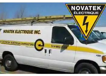 Montreal electrician Novatek Electrique