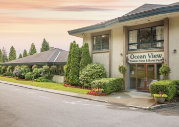 Burnaby funeral home Ocean View Burial Park