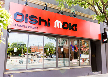 Whitby japanese restaurant Oishi Maki
