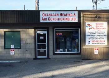 Kelowna hvac service Okanagan Heating & Air Conditioning Ltd.