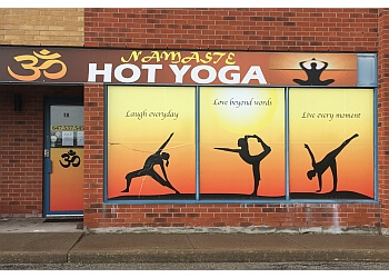 Markham yoga studio Om Namaste Hot Yoga Inc.