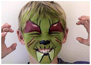 Once Upon A Time Kids Entertainment Vancouver Face Painting