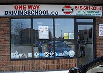 London driving school OneWay Driving School