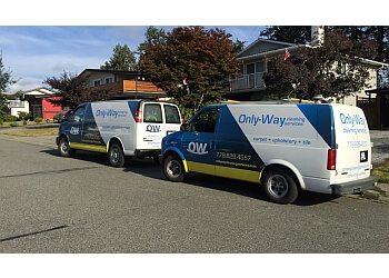 Coquitlam carpet cleaning Only Way Cleaning Services