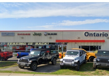Mississauga car dealership Ontario Chrysler Jeep Dodge RAM